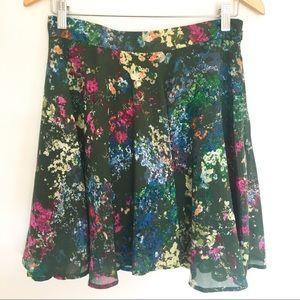 {B.B. DAKOTA} Jack Floral Skater Skirt Size 8